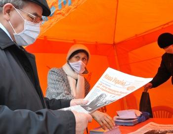 Украина в борьбе с гриппом   A/ H1N1 обратилась за помощью к международным организациям