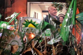 161 05 09 2009 GRECIA - В Греции на досрочных парламентских выборах  победу одержали социалисты