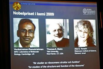 Нобелевская премия за достижения в области химии вручена ученым из Америки и Израиля