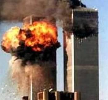 161 11 09 2009 Vzriv - В Нью-Йорке вспоминают жертв теракта 11 сентября 2001 года