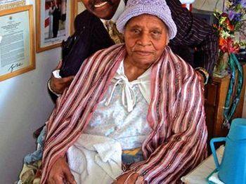 161 12 09 2009 Staraja - Умерла самая старая жительница Земли