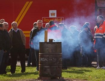 Британские почтальоны начали двухдневную забастовку