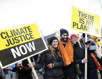 Копенгаген. Тысячи митингующих вышли на улицы города