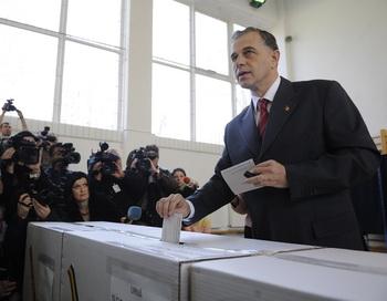 В Румынии состоялись выборы Президента страны