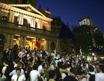 163 30 10 09 77078420 - Австрия: в Вене прошла забастовка студентов