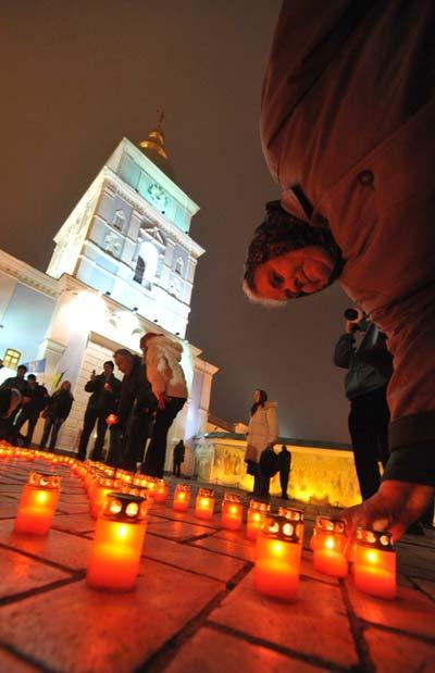 75 golod 12 - В Киеве прошло шествие памяти жертв Голодомора. Фоторепортаж