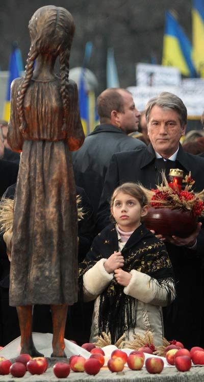 75 golod 5 - В Киеве прошло шествие памяти жертв Голодомора. Фоторепортаж