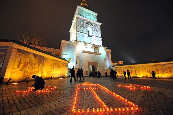 75 golod 7 - В Киеве прошло шествие памяти жертв Голодомора. Фоторепортаж