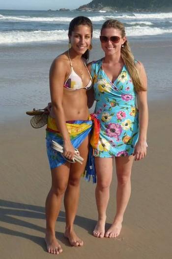Ландшафт побережья в южной части Бразилии