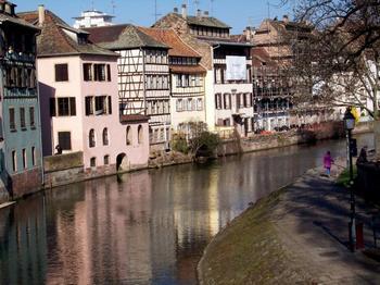 149 LaPetiteFrance1 - Старинный город Страсбург