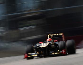 163 3Grosjean 0705 - Гросжан вновь занял первое место в испытательных заездах «Формулы-1»