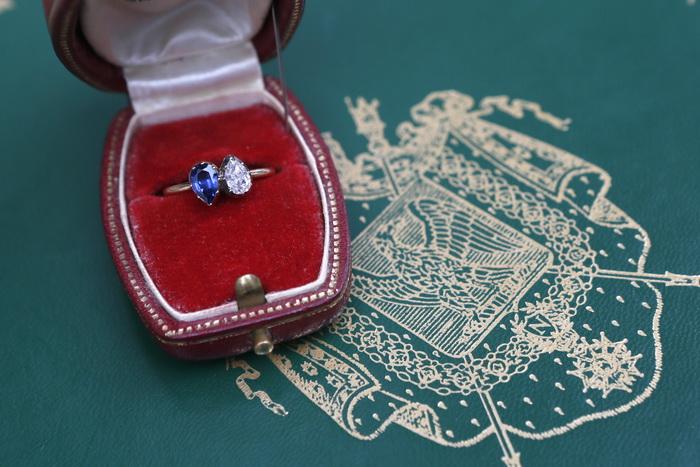 163 kolso briliant - Старинные кольца с бриллиантами