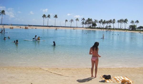 115 beachgirlpik - Отдых на Гавайях