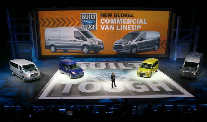 Фургоны Ford переезжают из Великобритании в Турцию