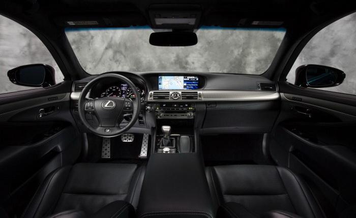 Lexus LS 460 F Sport 2013 — элегантный и импульсивный седан