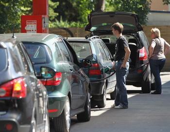 191 mashina gas - Спрос на газовые автомобили возрос в Германии