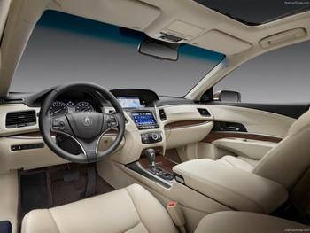 Acura RLX Advance 2014 — автомобиль будущего