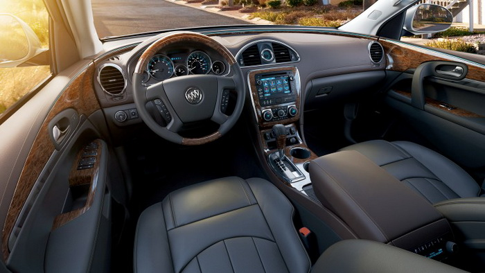 163 Buick+Enclave2 ET - Buick Enclave 2013 — роскошный внедорожник для большой семьи