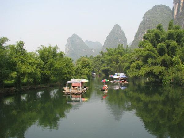 По Китаю. Путевые заметки. Круиз по реке Ли