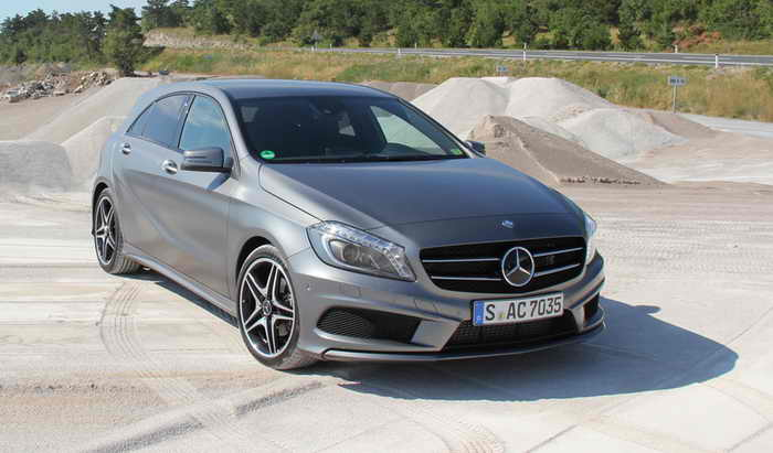 Mercedes A-Class нового поколения