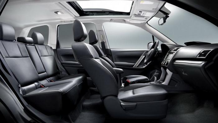 Обзор Subaru Forester 2014 модельного года