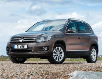 Улучшенный VW Tiguan 2012 занял свою нишу в мире кроссоверов