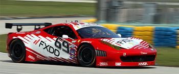 163 avto Ferrari69miami 1705 - Команда SunTrust одержала две победы подряд в гонке серии Rolex в Нью-Джерси