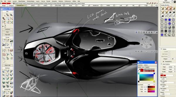 Прошёл конкурс на лучшую 3D-модель автомобиля «Ferrari World Design Contest»