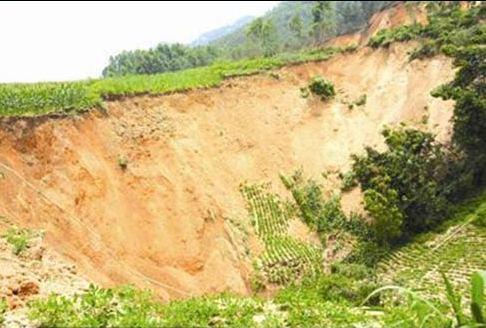 137 1106 ken2 - Внезапное появление провалов в земле стало причиной паники в Китае. Фоторепортаж