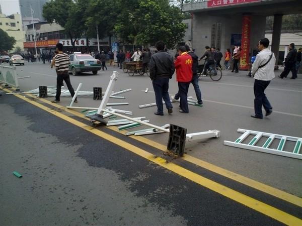 Очередной многотысячный бунт вспыхнул в Китае