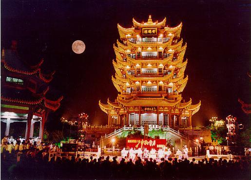 Истории Древнего Китая: Легенда о башне желтого журавля