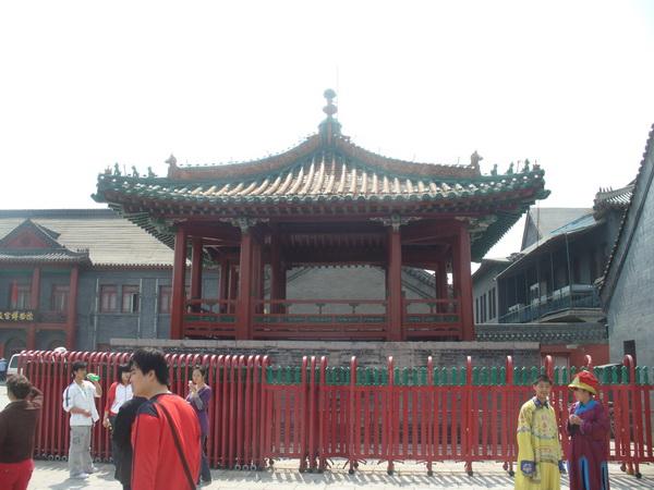 Дворец первых императоров Маньчжурской династии в Китае