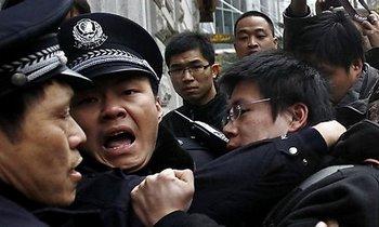 В Китае проходит около 100 тысяч акций народного протеста в год