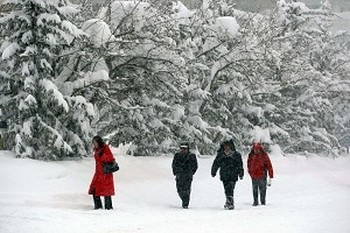 Китайский Синьцзян снова засыпает снегом. Пострадали более 100 тысяч человек