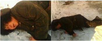 137 u91 1401 liu - Полицейские в Китае бросили пожилую женщину замерзать на снегу