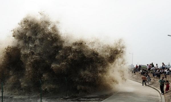 Река Цяньтан страдает от экологического бедствия