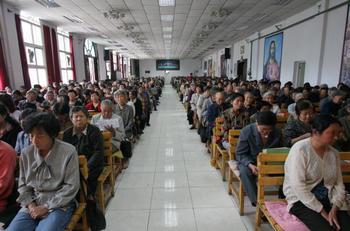 Китайские власти не позволили сотням христиан участвовать в международном конгрессе