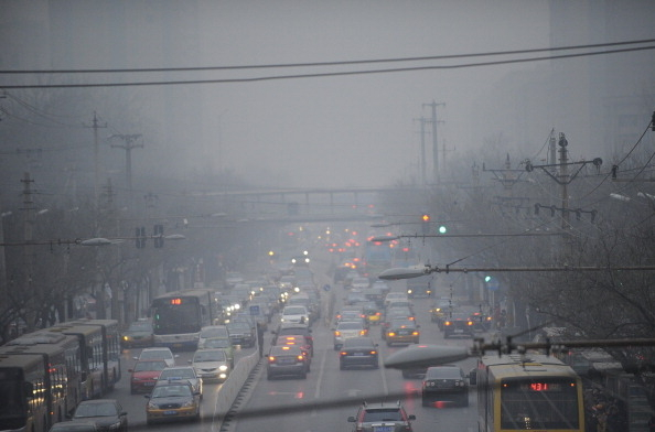 В Пекине снова  уровень загрязнения воздуха превысил предельную отметку