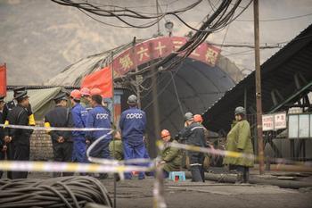 В Китае за первый квартал 2010 года погибло около 200 шахтёров