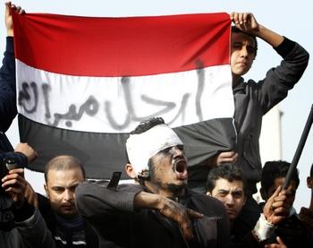 Китайские власти обеспокоены вниманием своих граждан к событиям в Египте