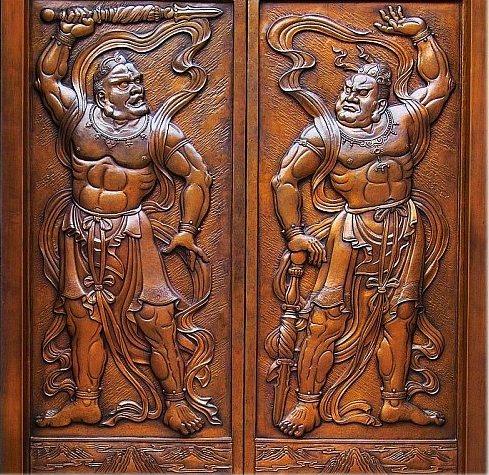137 u91 hengha - Боги-защитники дхармы Хэн и Ха
