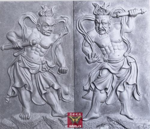 137 u91 hengha1 - Боги-защитники дхармы Хэн и Ха