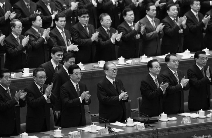 161 18th Congress in Beijing 700 - Съезд компартии Китая провозгласил поверхностный политический курс