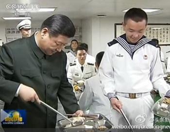 Новый лидер компартии Китая укрепляет связи с военными