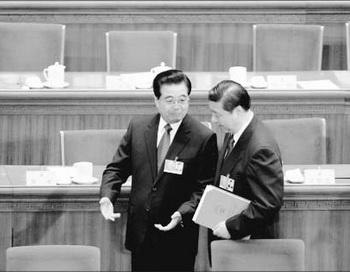 161 Xi Jinping Hu Jintao 350 - Новое руководство компартии Китая укрепляет свои позиции