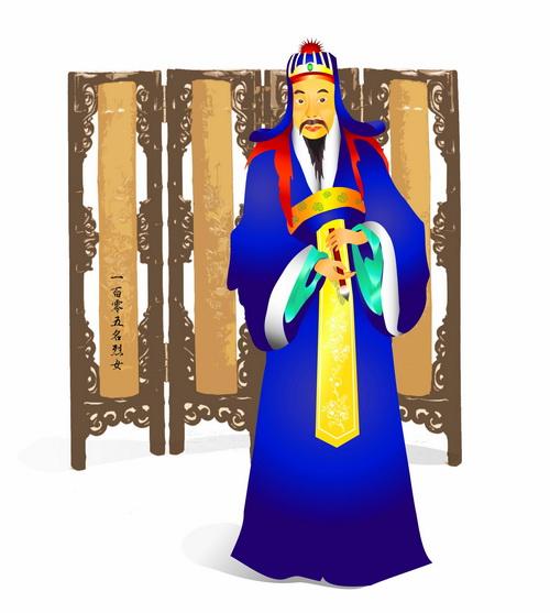 Юй Шинань — выдающийся каллиграф династии Тан