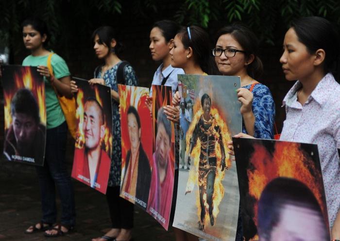 Ещё один тибетец совершил акт самосожжения
