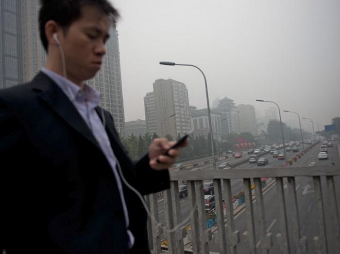 161 smog in Beijing 1212 - Заболеваемость раком лёгких в Пекине стремительно растёт