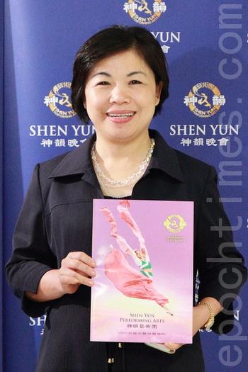 163 ShenYun - Законодатель: Shen Yun приобщает меня к китайской культуре