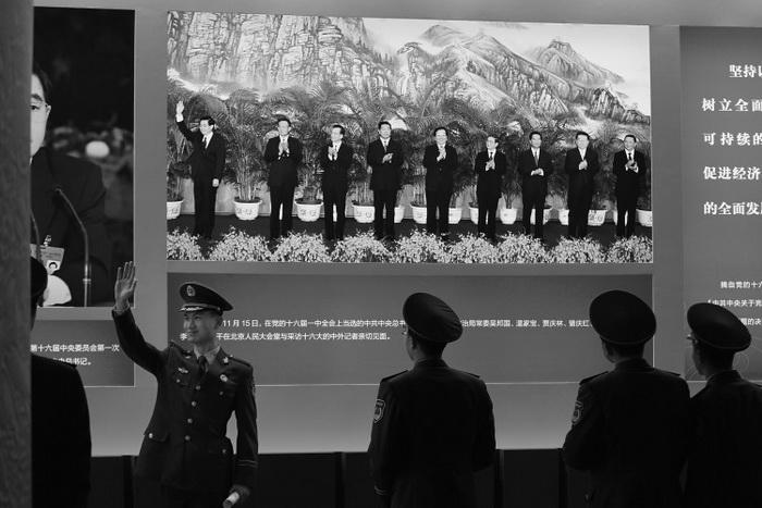 163 china 161112 - В Пекине завершил работу XVIII съезд компартии